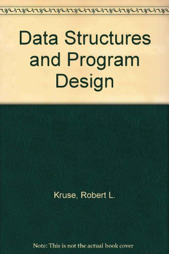 9780131960497: Data Structures Program Design