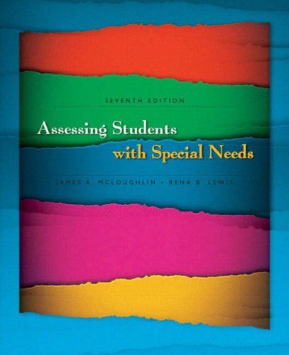 9780131961913: Assessing Students with Special Needs (7th Edition)