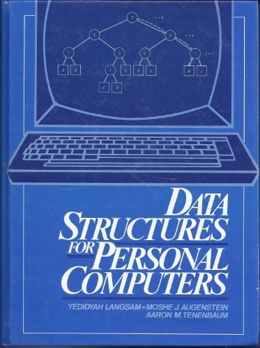 9780131962217: Data Structures for Personal Computers