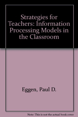 9780131963030: Strategies for Teachers: Information Processing Models in the Classroom