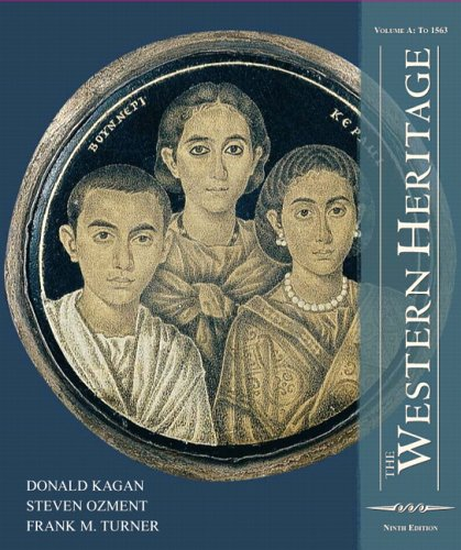 9780131963139: The Western Heritage: Volume A (9th Edition)