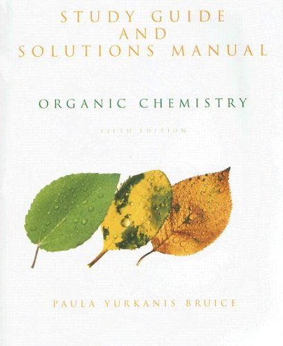 9780131963283: Study Guide and Solutions Manual for Organic Chemistry