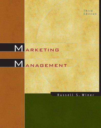 9780131963344: Marketing Management