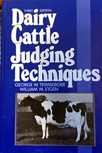 9780131963528: Dairy Cattle Judging Techniques
