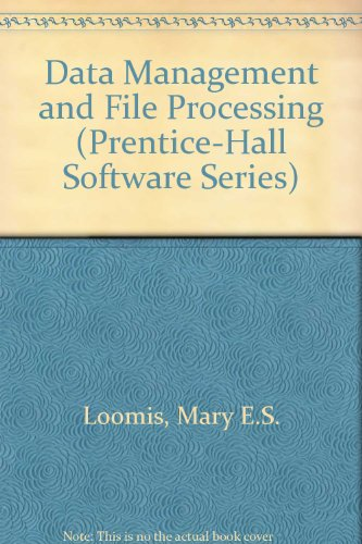 9780131964778: Data Management and File Processing (Prentice-Hall Software Series)