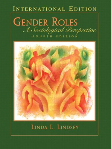 9780131968226: Gender Roles: A Sociological Perspective