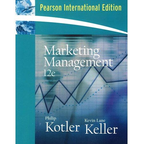 9780131968530: CU.Kotler/Keller: Marketing Management Pack