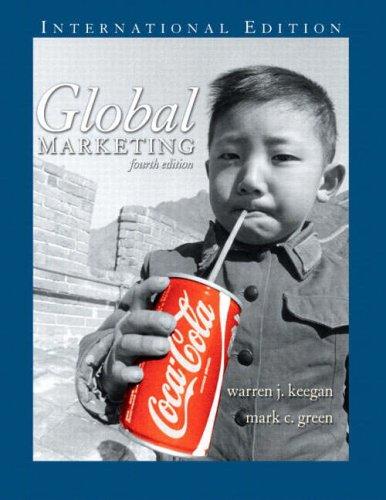 9780131968547: Global Marketing