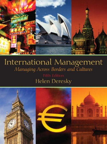 9780131968585: International Management: Managing Across Borders and Cultures