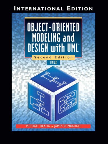 9780131968592: Object-Oriented Modeling and Design with UML: International Edition
