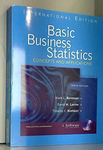 9780131968691: Basic Business Statistics