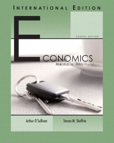 9780131968721: Economics Principles and Tools