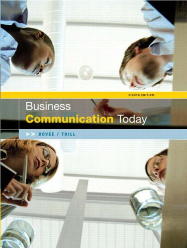 9780131968738: Business Communication Today