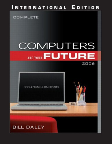9780131968837: Computers Are Your Future: Complete