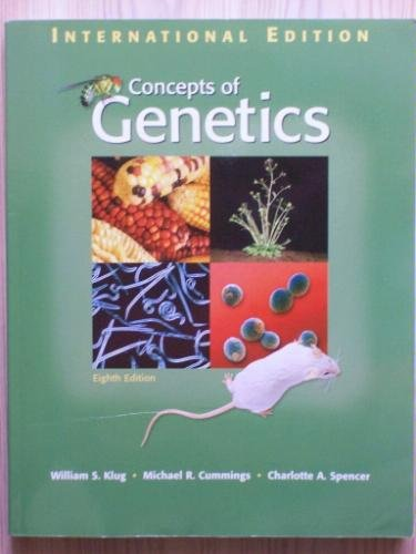 9780131968943: Concepts of Genetics 8th (Eighth Edition) Klug [Hardcover]