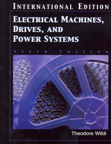 Electrical machines pdf theodore wildi