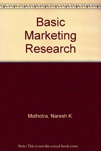 9780131971219: Basic Marketing Research