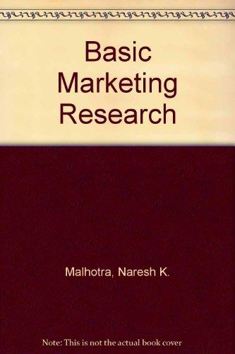 9780131971219: Basic Marketing Research