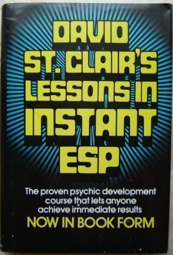 9780131971370: David St. Clair's Lessons in Instant ESP