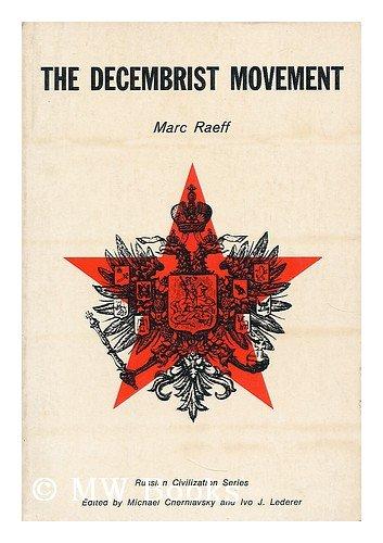 9780131971455: The Decembrist Movement