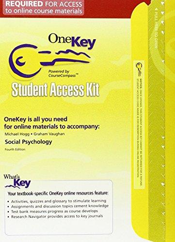 9780131971479: One Key