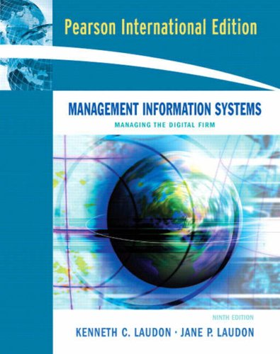 9780131971929: Management Information Systems: Managing the Digital Firm