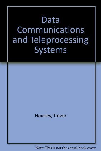 9780131973930: Data Communications & Teleprocessing Systems