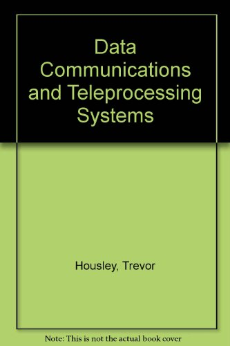 9780131974357: Data Communications and Teleprocessing Systems