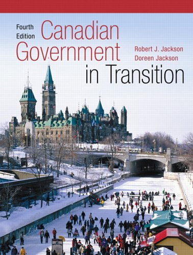 9780131975293: Canadian Government In Transition