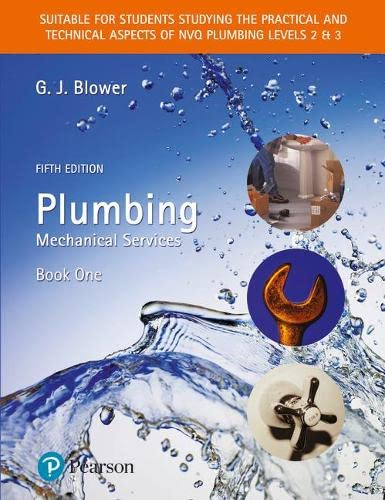 9780131976207: Plumbing: Mechanical Services, Book 1 (Bk. 1)