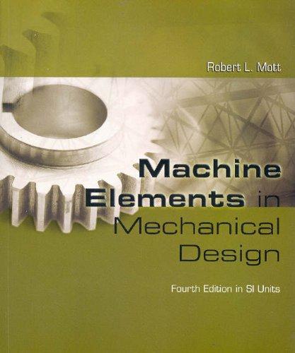 9780131976443: Machine Elements in Mechanical Design SI Version