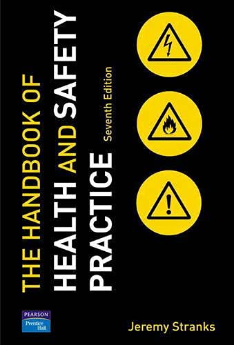 9780131976450: Handbook of Health & Safety Practice: Uk Edition
