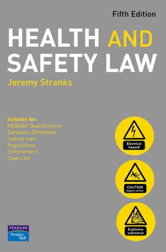 9780131976467: Health and Safety Law