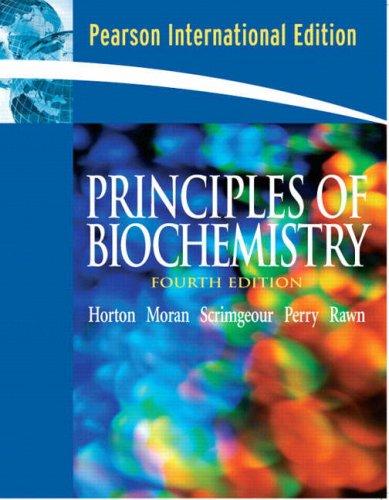 9780131977365: Principles of Biochemistry: International Edition