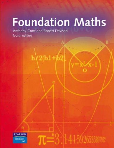 9780131979215: Foundation Maths (4th Edition)
