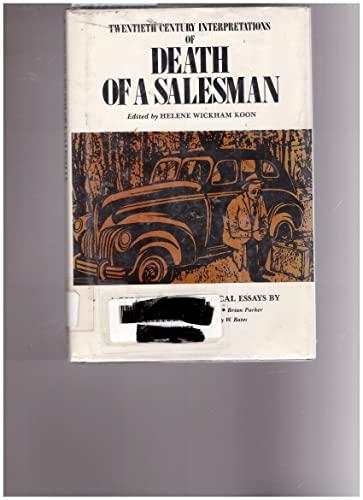9780131981355: Twentieth Century Interpretations of Death of a Salesman: A Collection of Critical Essays (A Spectrum book)