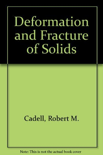 9780131983090: Deformation and Fracture of Solids