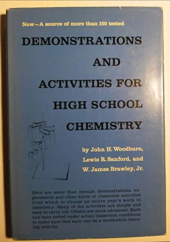 9780131983588: Demonstrations and activities for high school chemistry