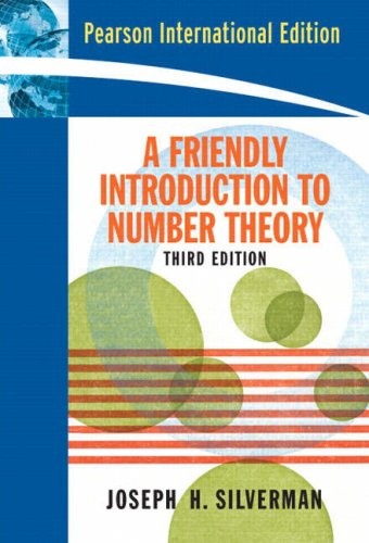 9780131984523: Friendly Introduction to Number Theory, A (3rd Edition)