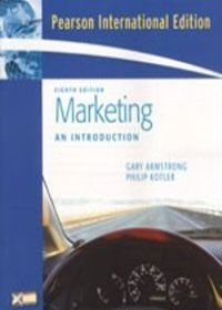 9780131984547: Marketing: An Introduction (8th International Edition)