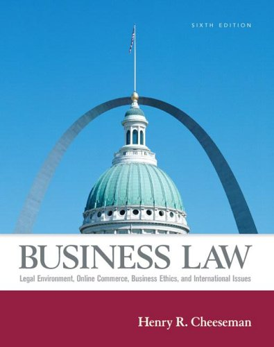9780131984936: Business Law (6th Edition)