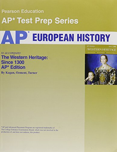 Western Heritage: Ap Exam Text With Test Workbook: Kagan, Donald