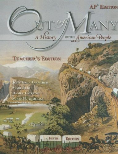 9780131986107: Out of Many: A History of the American People [Teacher's Edition With CDROM]