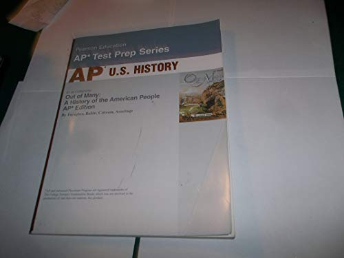 9780131986138: Out of Many: a History of the American People: With Ap Test