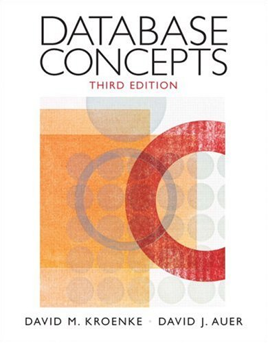 9780131986251: Database Concepts (3rd Edition)