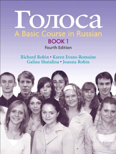 9780131986282: Golosa: A Basic Course in Russian, Book 1 (4th Edition) (Bk. 1)