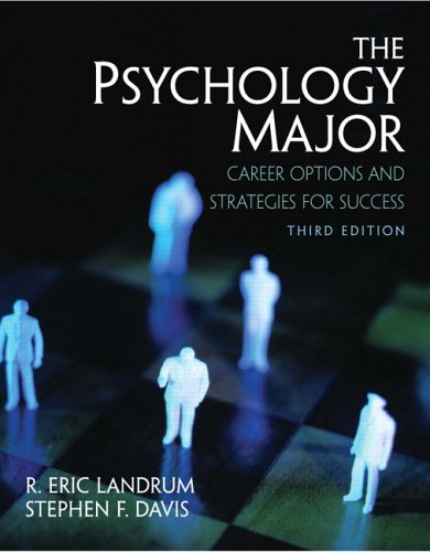 9780131987517: The Psychology Major: Career Options and Strategies for Success (3rd Edition)