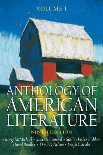 9780131987999: Anthology of American Literature, Volume I (Anthology of American Literature)