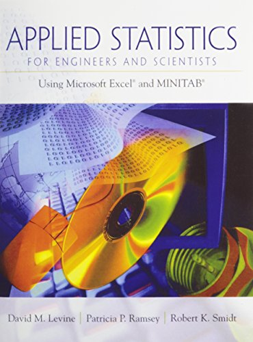 9780131989191: Applied Statistics for Engineers and Scientists: Using Microsoft Excel & Minitab with MINITAB Release 14 for Windows CD