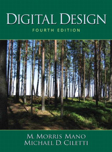Digital logic and computer design by m. Morris mano solution.